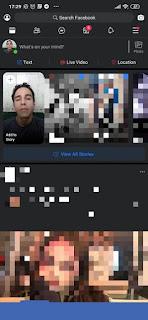 الفيسبوك لايت الوضع المظلم