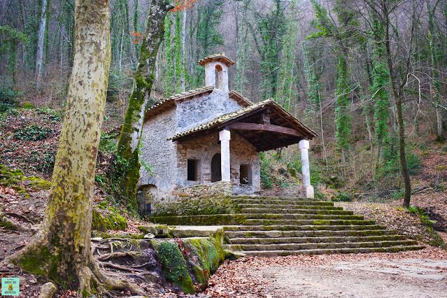 Ermita Sant Martí del Corb, La Garrotxa