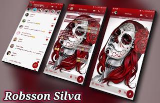 Skull Girls Theme For YOWhatsApp & Fouad WhatsApp By Robsson