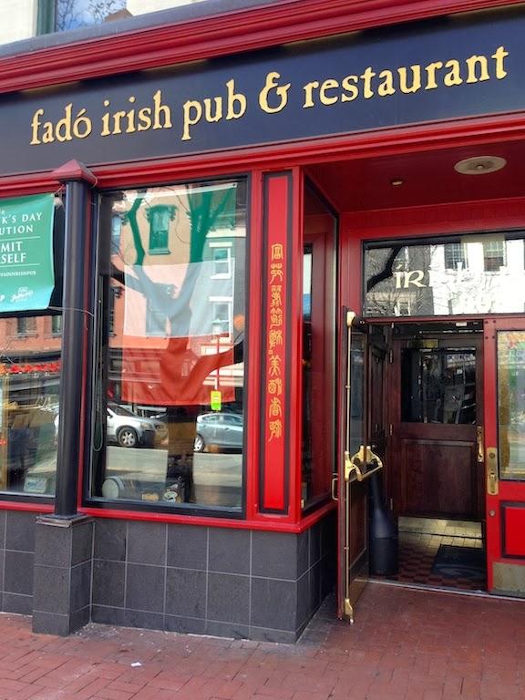Fado Irish Pub Food Review  DC Outlook