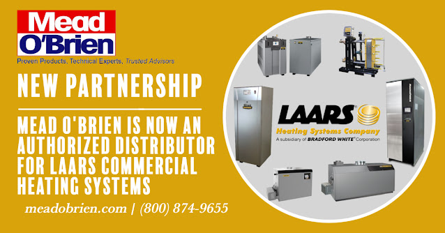 Mead O'Brien Now and Authorized Laars Commercial Heating