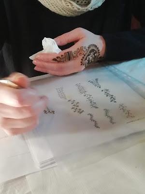 corso di mehndi hennè