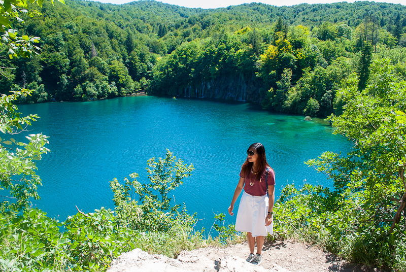 ootd at Plitvice Lakes National Park