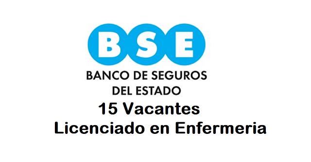 15 puestos Licenciados de Enfermería - BSE