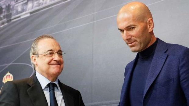 Espagne: Zinédine Zidane de retour sur le banc de touche du Real Madrid