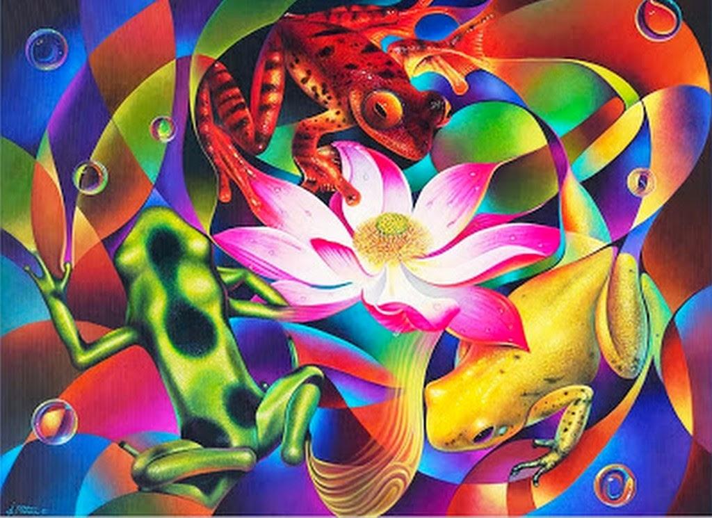 Pintura Moderna Y Fotografia Artistica Cuadros De Flores Al Oleo