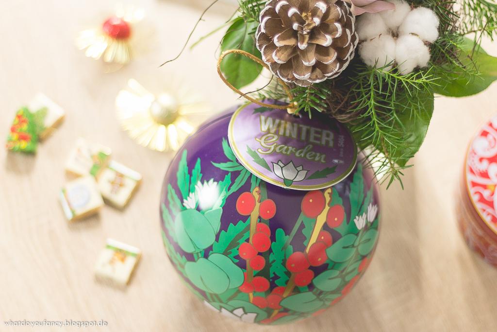 Blogger Adventskalender 2014 Lush Winter Garden