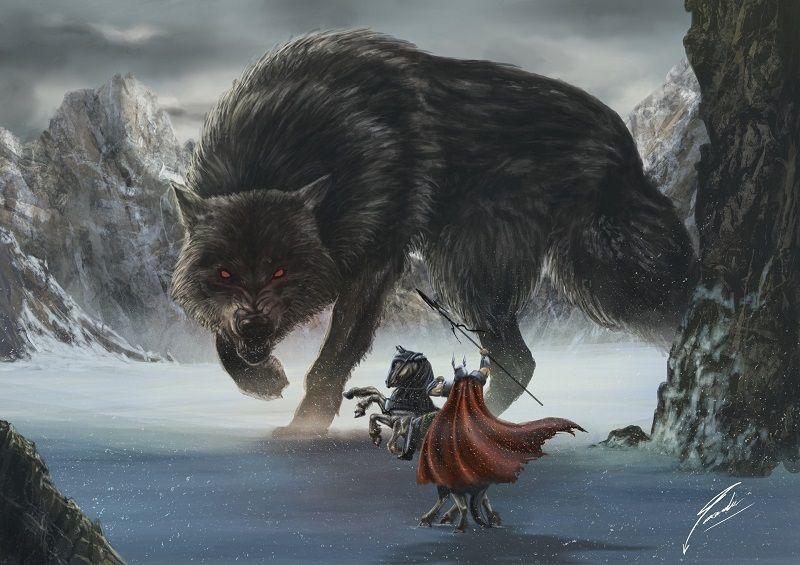 Fenrir o Lobo