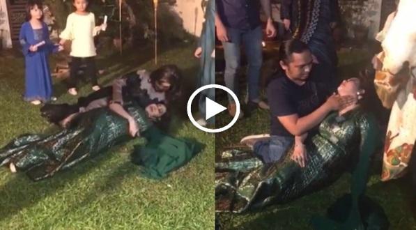 Video Ifa Raziah Pengsan Di Set Penggambaran