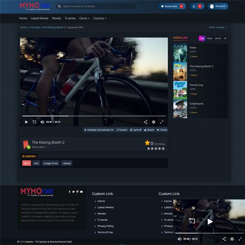 Script filme online Opensource- MymoCms