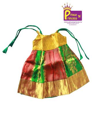 new born silk frock pattu pavadai girls kutties