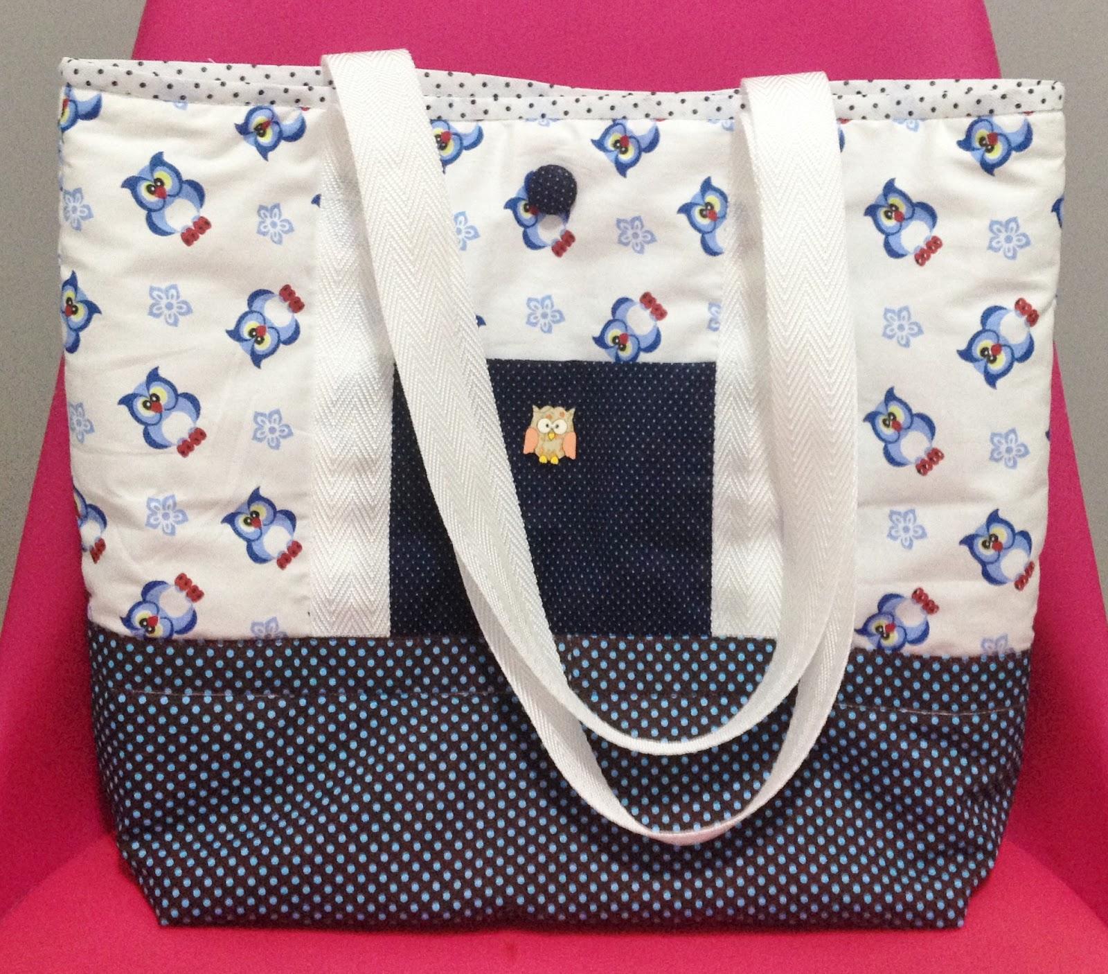 Bolsa De Tecido Passo A Passo Como Fazer : Vivartesanato artesanato em tecido reciclando design e