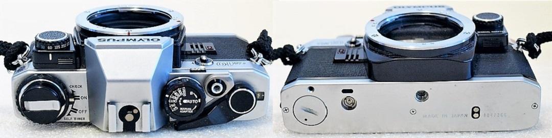 Olympus OM10 (Chrome) Body #366, Manual Adapter