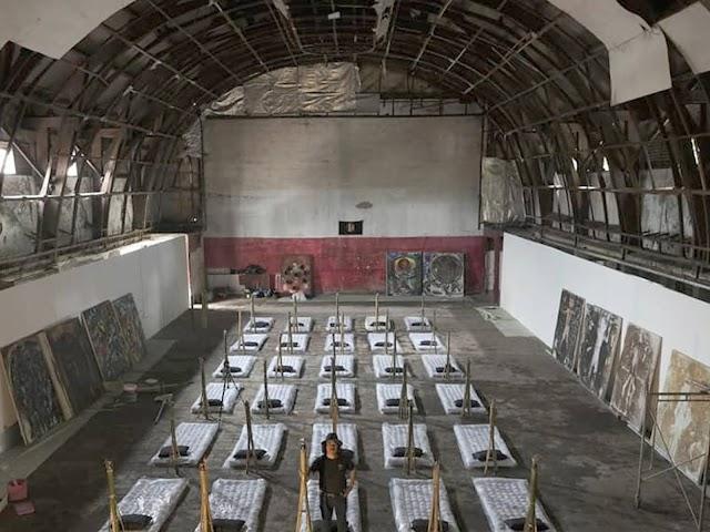 Seniman Bandung Gelar Pameran di Bekas Bioskop Dian