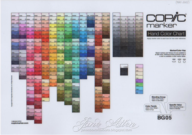 Copic Marker Europe Copic Colour Chart Health Check