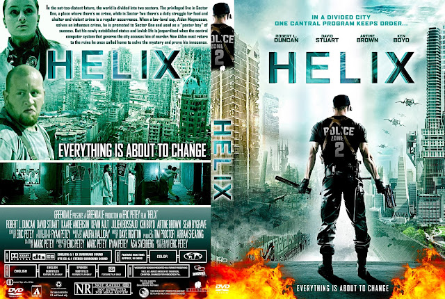 Helix DVD Cover