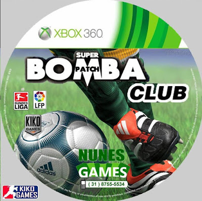 Label Super Bomba Patch Club Xbox 360