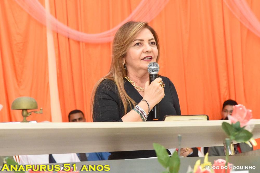 Anapurus 51 anos: Prefeita Tina Monteles e equipe de governo participam de grandioso culto da Assembleia de Deus.