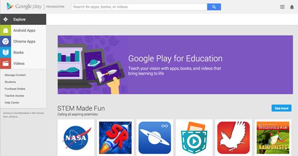 Google Adaptasikan Google Play Untuk Platform Pendidikan di Chromebooks