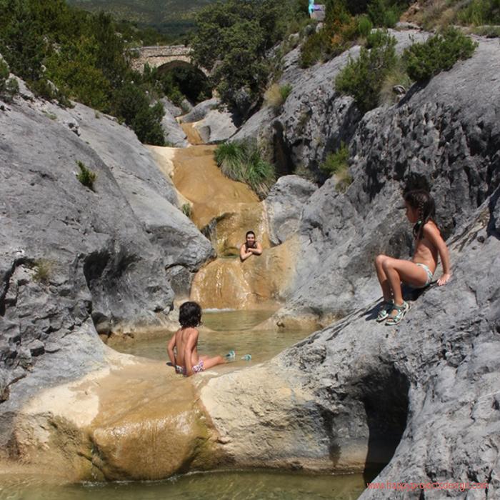 Pirineo de Huesca: pozas del barranco de Ascaso