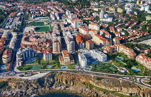 vista aérea de Cascais - Portugal