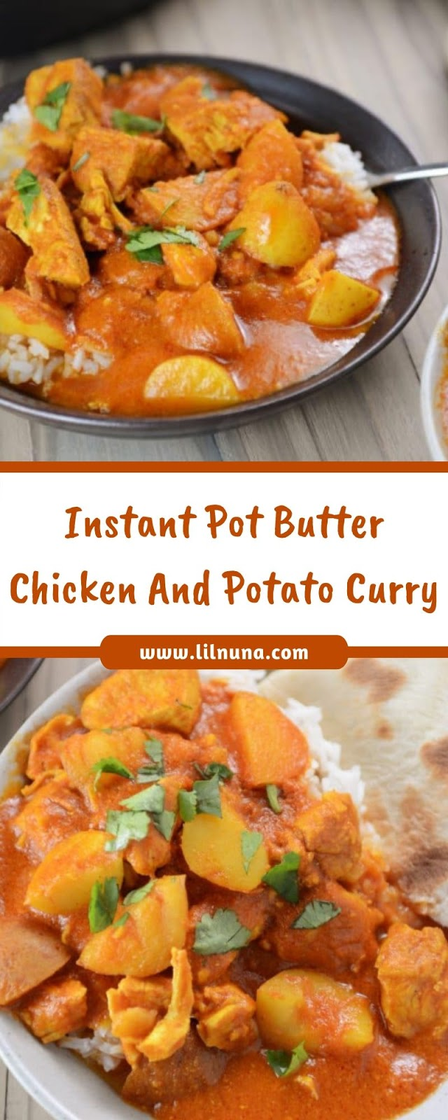 Instant Pot Butter Chicken And Potato Curry