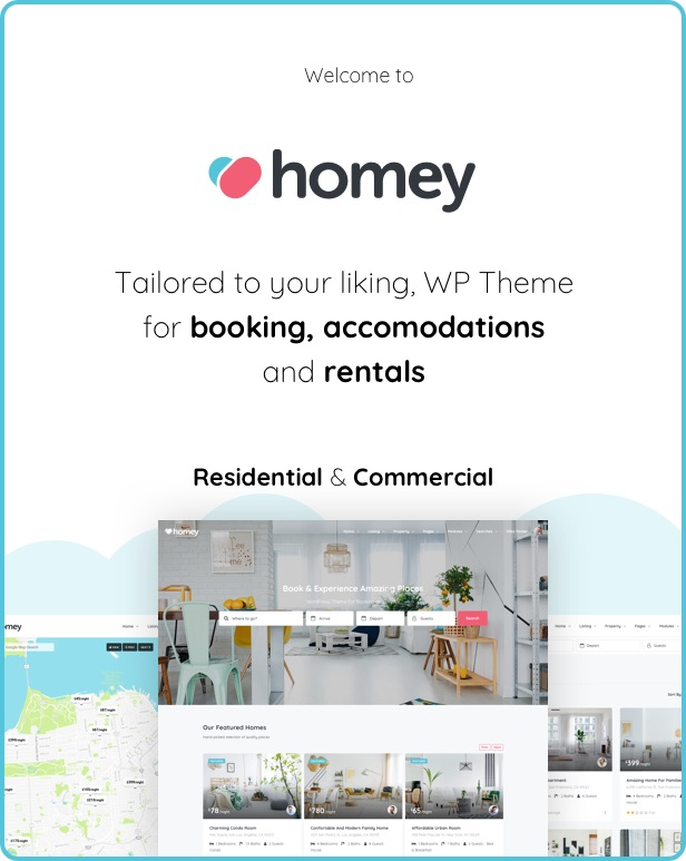 Homey - Booking and Rentals WordPress Theme Review