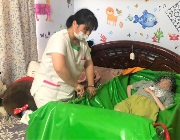 台中南門扶輪社及時救援 偕同愛心企業助創世植物人