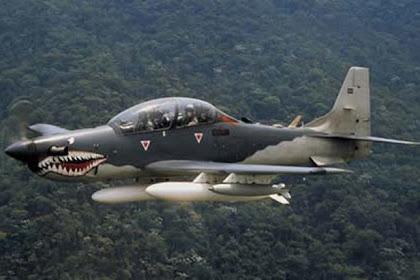 Pesawat Tempur Super Tucano si Hiu Terbang Bertaring