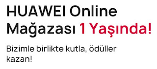 Huawei Online Mağaza 1. Yaşını Ödüllerle Kutluyor