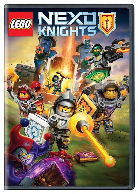 LEGO Nexo Knights Season One  DVD Review and Giveaway