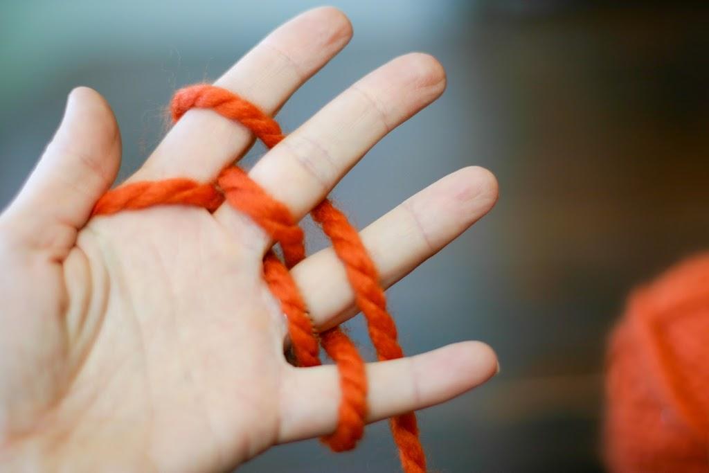 Finger Knitting Directions