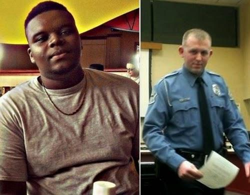 michael brown killer resigned