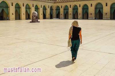doa niat berjalan menuju masjid sesuai sunnah