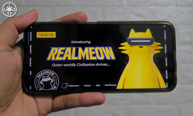REALMEOW Cat, realme Brand Character,
