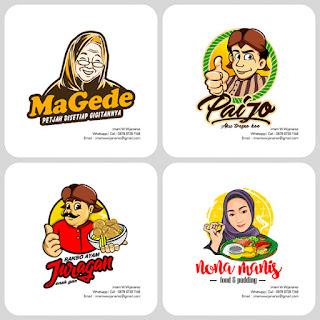 desain logo karakter