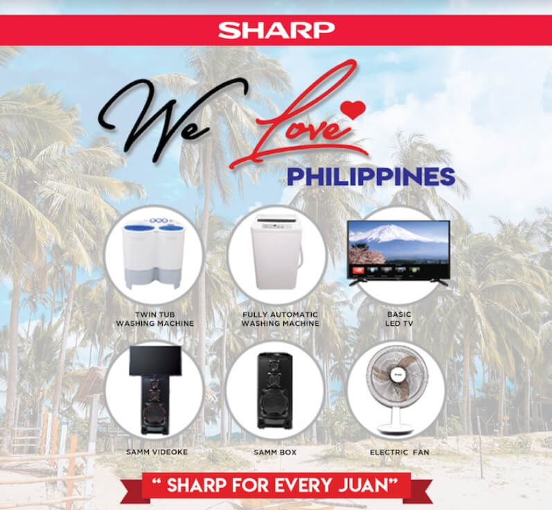 Sharp Launches We Love Philippines Campaign