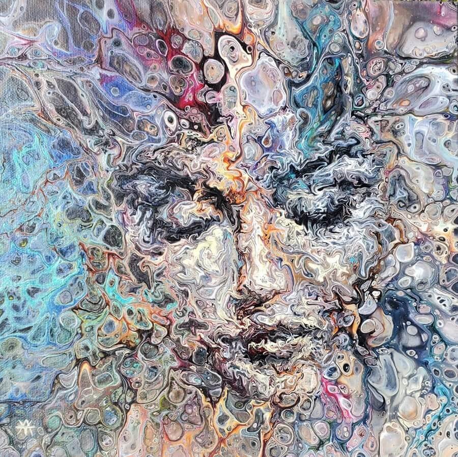 01-Acrylic-Portrait-Liz-Y-Ahmet-www-designstack-co