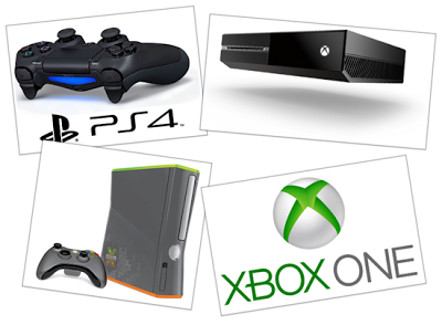Xbox-One VS. PlayStation-4 VS. XboX-360 Comparison