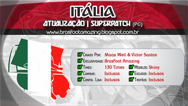 patch campeonato italiano brasfoot 2011