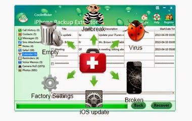 easy iPhone Backup Extractor