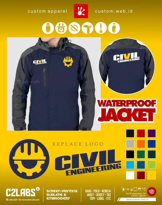 Civil Engineering Building Jacket - Jaket Tehnik Sipil - Konveksi Jaket Jogja