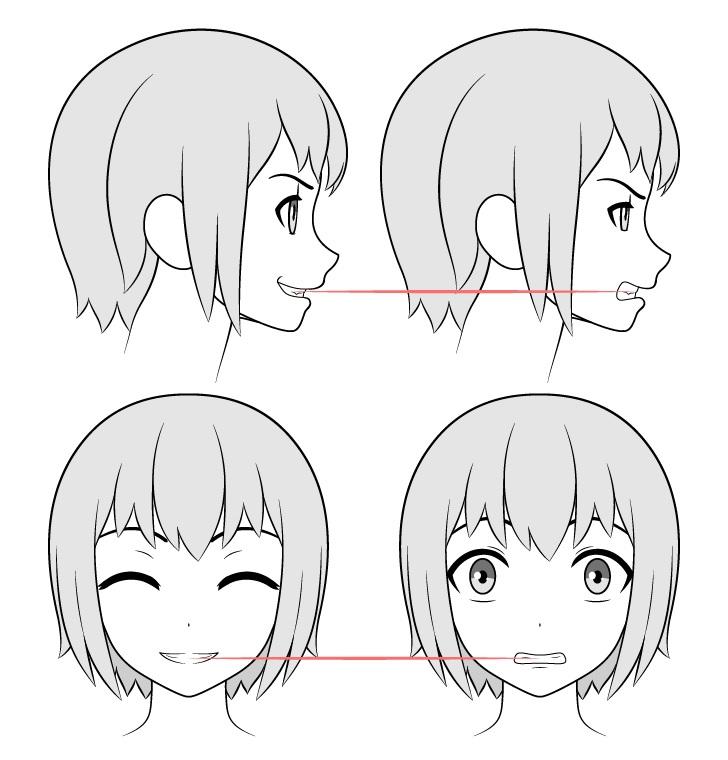 Gambar gigi anime keselarasan