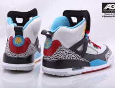 "newest 04bad c0c71 Click on the images below for a detailed look at the upcoming Air Jordan  Spizike ""Bordeaux"""