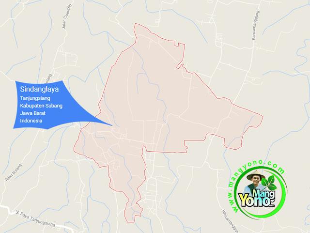 PETA : Desa Sindanglaya, Kecamatan Tanjungsiang