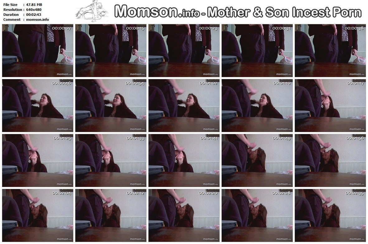 Download son masturbates and cum on his mother's face video