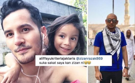 Dato' Aliff Syukri Kongsi Foto Mandi Swimming Pool, Komen Zizan Buat Peminat Gelak Guling-Guling
