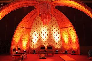 Hindu Wedding Stage Decoration Pictures