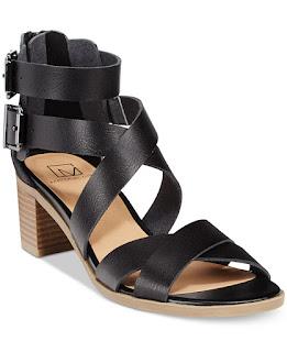 Material Girl Danee Block Heels $36 (reg $60)