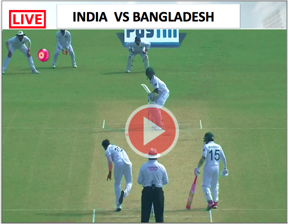 Watch India vs Bangladesh - 2nd TEST match. India win by 46 run.